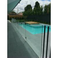 Wholesale Frameless glass pool fence with stainless steel accessories from china suppliers