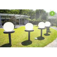 Bright Solar Powered Garden Balls / Round Ball Solar Lights Work Over 20 Hours