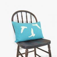 Wholesale Cute Bird Sky Blue Replacement Garden Furniture Cushions Waterproof from china suppliers