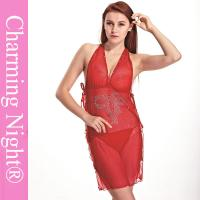 Wholesale ODM Sexy Women Chemise Lingerie Backless Fetish sexy valentine dress from china suppliers