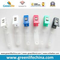 Wholesale Colorful Plastic Badge Clip W/PVC Clear Strap Name Holder from china suppliers