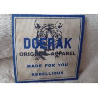 Wholesale High Density 3D Organic Canvas Screen Printing Label For Children'S Garments from china suppliers