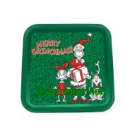 Wholesale square tin tray christmas tin trays promotional metal tin serving trays from china suppliers