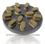 metal grinding disc - diamond metal bond grinding plate for granite