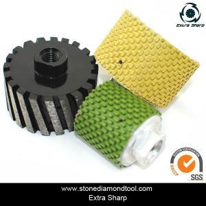 Quality Metal/Resin Diamond Grinding Profile Wheel Stone Slabs Polishing Drum Wheel for sale