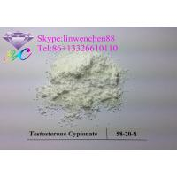 Wholesale Raw Steroid powders 99% Testosterone Cypionate  CAS:58-20-8 White Crystal powder from china suppliers