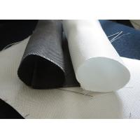 Wholesale White PTFE Coated Alkali / Non-Alkali Filter Fabric Roll 330 - 900gsm woven roving plain cloth from china suppliers