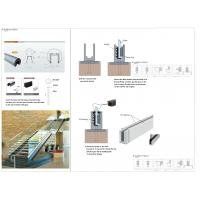 Buy cheap glass railing / stainless steel handrail fittings / stainless steel spigot from wholesalers