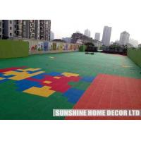 Wholesale Anti-skid Safe Solid Playground Safety Surfacing With Attractive Colors For Playroom from china suppliers