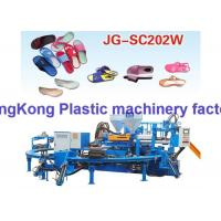 Wholesale Rotary Double Colors Jewelry Shoe Injection Molding Machine For Lady Beach Sandal / Slipper from china suppliers