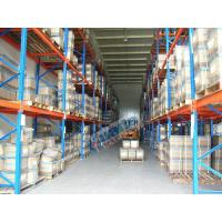 Wholesale Conventional Galvanized Pallet Racking Weight Capacity 2.5 Ton For Textile Industry from china suppliers
