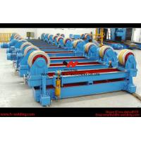Wholesale Automatic Pipe Welding Rotator Vessel Welding Turning Bed With Rubber Roller from china suppliers