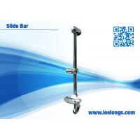 Wholesale S / S Polished Slim Shower Slide Bar With Abs Chrome Plated Soap Dispenser from china suppliers
