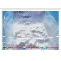 Wholesale CAS 521-12-0 Raw Primobolan Steroids Powders Drostanolone Propionate / Masteron from china suppliers