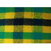 Wholesale 60 Wool 40 Polyester Small Jacquard Pattern Check Wool Fabric Multi Color from china suppliers