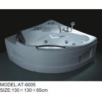 Wholesale 6 big jets bathroom spa tubs , 130 * 130 * 65cm jetted soaking tub Excellent tenacity from china suppliers
