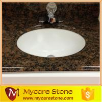 Wholesale Costomized design natural vanitop with sink from china suppliers