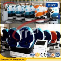 Wholesale Interactive 9D VR Equipment 6 Seater 9d Action Cinema With CE Certificate from china suppliers