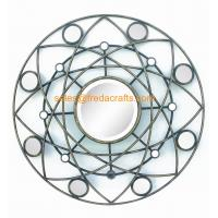 Wholesale Factory Price Round Shape Modern design Mirror Decorated Wall Mirror from china suppliers