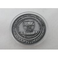 Wholesale 2D or 3D Personalized Coins / School Campus Coin with Antique Silver, Anti Nickel, Anti Brass Plating from china suppliers