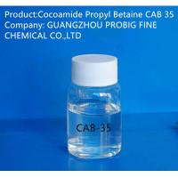 Wholesale Liquid Appearance Cocoamide Propyl Betaine Cab 35 Surfactant Colorless Color from china suppliers