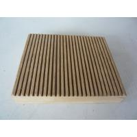 Buy cheap Fire retardant WPC outdoor decking from wholesalers