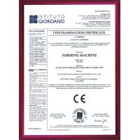 Wuxi BoLo Machinery Equipment Co.,Ltd. Certifications