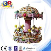 Wholesale Carousel Horse carousel for sale kiddie rides six seat from china suppliers
