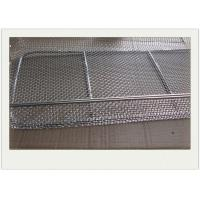 Buy cheap Health And Safaty Metal Wire Basket With Stainless Steel Used For Putting Fruit from wholesalers