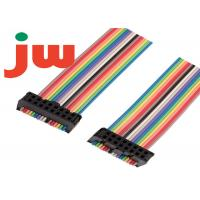Wholesale 8 Way 8 Pin Ribbon Cable , 2.54mm Pitch Rainbow Ribbon Cable IDC PVC Fireproof from china suppliers