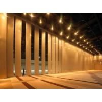 Wholesale Decorative Sliding Operable Wooden Partition Wall Sound Proofing MDF Board from china suppliers