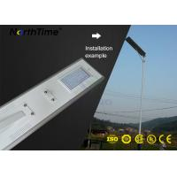 Wholesale High Power Solar Lights Aluminum Automatic Street Light With Solar Panel from china suppliers