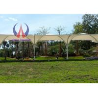 Wholesale Elasticity PVDF Sail Garden Sun Shade Canopy For Golf Course Heavy Rain Resistence from china suppliers