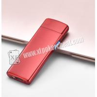 Metal Colorful Lighter Poker Scanner For Invisible Barcode Playing Cards