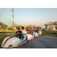 Wholesale Space Train Design Kiddie Roller Coaster Customized Capacity For Children / Adults from china suppliers