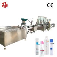Wholesale Stainless Steel Aerosol Spray Filling Machine , Fragrance Perfume filling machine from china suppliers