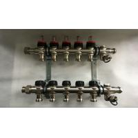 Buy cheap Single Ball Valve 5 Loop Radiant Manifold For Underfloor Heating System from wholesalers