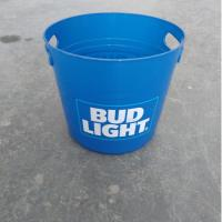 Wholesale 8L Cheap Custom Beer Wine  Glass Clear  Plastic Ice Bucket  with Lid from china suppliers