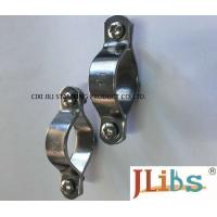 Wholesale Welding Connection Cast Iron Pipe Clamps With Coating / Sandblasting Surface Finishing from china suppliers