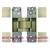Quality Zinc Alloy / Aluminum Alloy Hidden Door Hinges Hardware , Heavy Duty Cupboard Door Hinges for sale