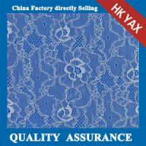 Wholesale YAX  wholesale YX3322 Chinashow light blue organic cotton fabric lace,fashion plain light blue cotton fabric lace from china suppliers