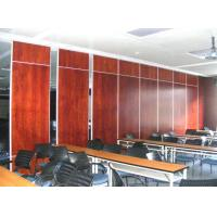 Buy cheap Operable Plywood Soundproof Office Partition Walls 65 mm Thickness from wholesalers
