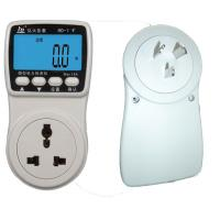 Quality 1.0 Accuracy Electricpower Plug in Power Monitor with Large LCD display for sale
