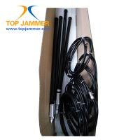 Quality 4 Bands Low Frequency 20-500MHz VIP Portable Jammer,100W High Power Luggage Wheel Jammer for sale