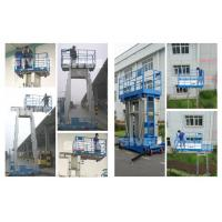 Wholesale Four Mast Two Men Work Aluminum Work Platform 8m Height 480kg Load Capacity from china suppliers