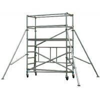 Quality Safe Durable Waterproof Aluminum Mobile Scaffolding Tower System / Aluminium Tower Scaffold for sale
