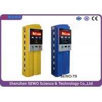 Wholesale Stainless Steel and Tempered Glass RFID Parking Ticket Machine from china suppliers