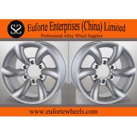 Wholesale Hyper Silver SUV 16x8 off road wheels , 4x4 Extreme Off Road from china suppliers