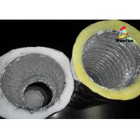 Wholesale Air Conditioning Fiberglass Flame retardant Aluminum Insulated Flexible Ducts from china suppliers