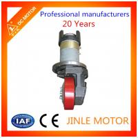 Wholesale Stacker Forklift Drive Wheel Motor Assembly 24V 1.1KW With Brake Torque 16N.M from china suppliers